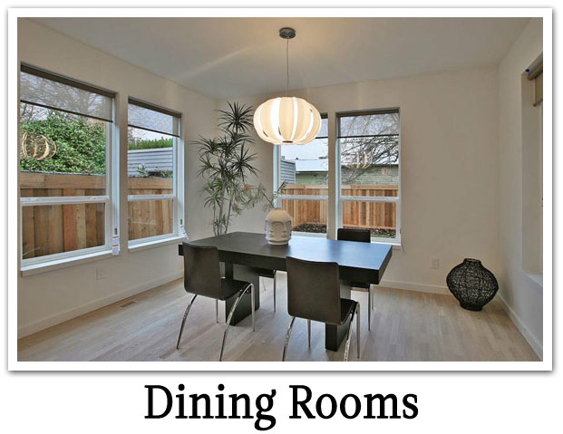 Modern - Dining Rooms